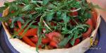 Tarte mit Olivencreme und Gemüse