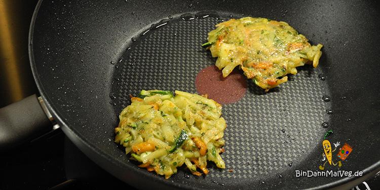 zucchini karotten kartoffelpuffer bin dann mal veg. Black Bedroom Furniture Sets. Home Design Ideas