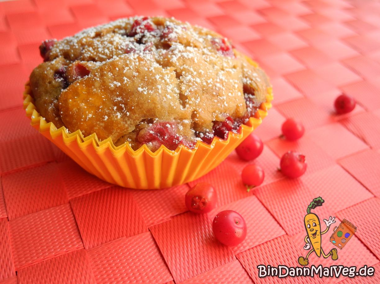 Kürbis-Cranberry-Muffins