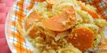 Süßkartoffel-Couscous-Auflauf