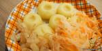 Kluski śląskie – Schlesische Kartoffelklösse