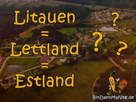 LettlandLitauenEstlandEntwurf