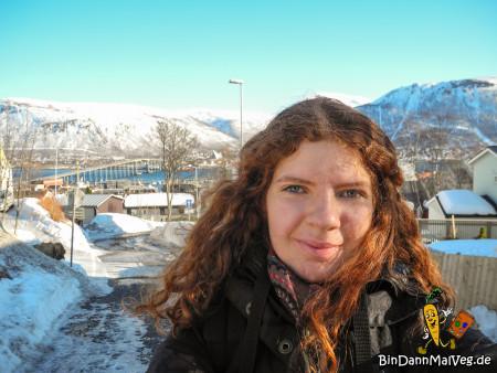 Arbeitsweg in Tromso
