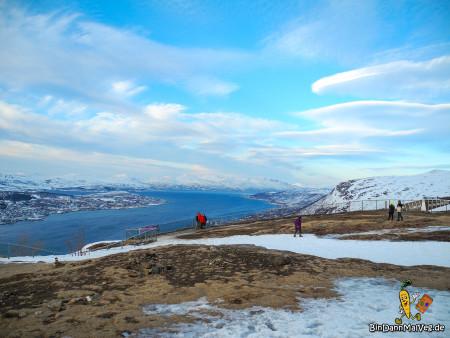 Ausblick über Tromso und die Region