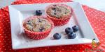 Blaubeer-Kokos-Muffins mit einem Hauch Kardamom