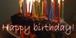 Happy birthday & alles Gute zum Nachwuchs!