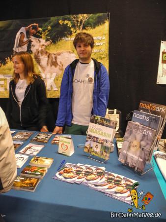 NOAH Stand Trondheim Vegan Fair